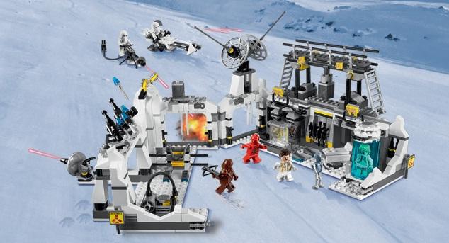 Lego star wars 7879 hoth echo base toys n bricks